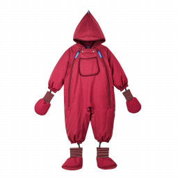 Baby-Winteroverall Hali Ice, red/cabernet, 70/80