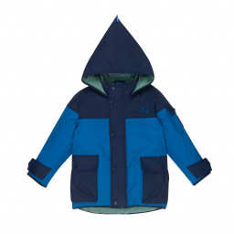 Kinder Winterjacke Pikku Tuppi navy/seaport