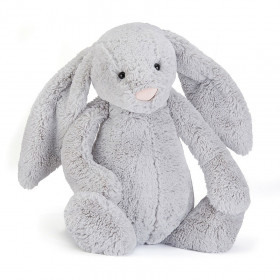 Jellycat Small Bashful Bunny silver