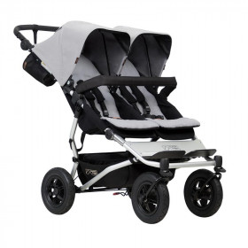Mountain Buggy Duet silver