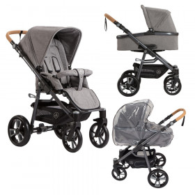 Naturkind Kinderwagen Lux, Siebenschläfer Bundle