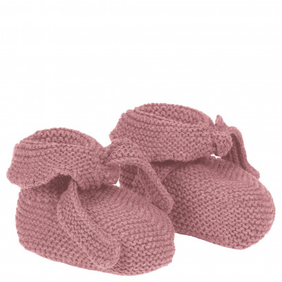Baby Schühchen Toujours Strick, One Size, berry