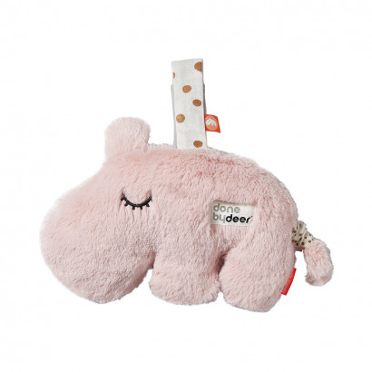 Spieluhr - musical cuddle toy Ozzo, powder