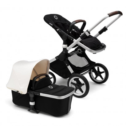 Bugaboo Fox Complete alu/fresh white