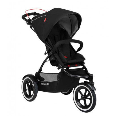 Phil and Teds Sport Buggy, schwarz