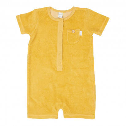 Baby Jumpsuit Soft sunrise corn yellow