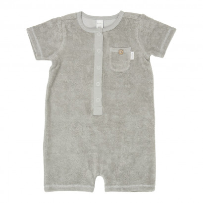 Baby Jumpsuit Soft sunrise mouse grey