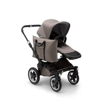 Donkey2 Twin, Schwarz, Mineral Collection, taupe melange
