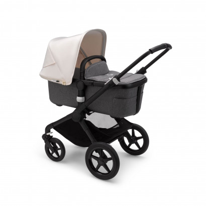 Bugaboo Fox 2 Black/Grey Melange/Fresh White