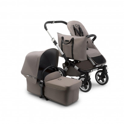 Donkey2 Duo, Alu, Mineral Collection, taupe melange
