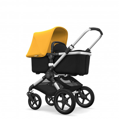 Bugaboo Fox alu/schwarz/yellow