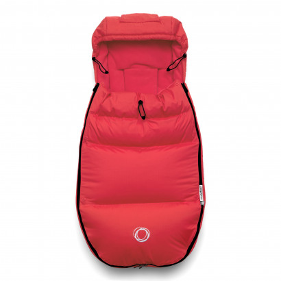 Bugaboo High Performance Fusssack+ neon red