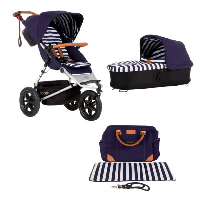 Mountain Buggy Urban Jungle luxury coll. nautical Bundle