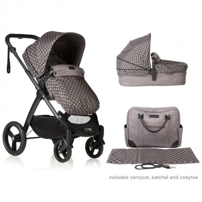 Mountain Buggy cosmopolitan luxury collection Geo, inkl. Maxi-Cosi Adapter und Foodtray