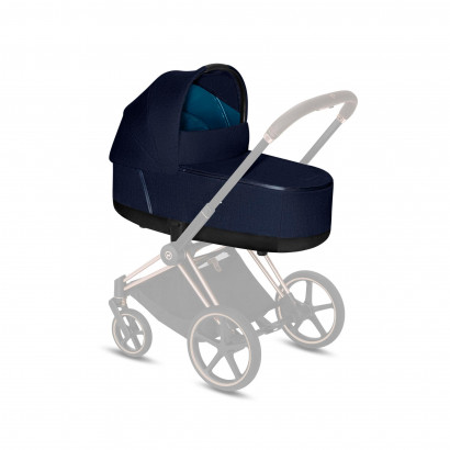 Priam LUX Carry Cot Midnight Blue Plus