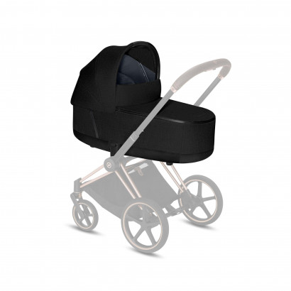 Priam LUX Carry Cot Stardust Black Plus
