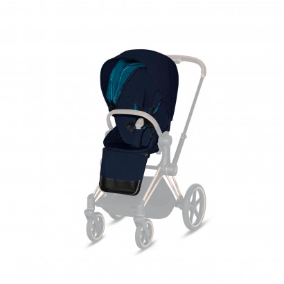 Priam LUX Sitzpaket Midnight Blue Plus