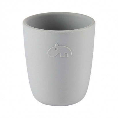 Silikon-Mini-Becher mug, grey