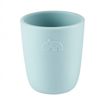 Silikon-Mini-Becher mug, blue