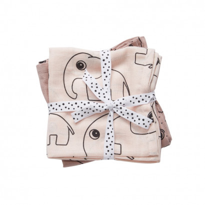 done by deer swaddle contour powder 120 x 120 cm (2er Set)