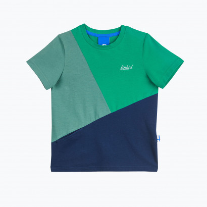 T - Shirt ANKKURI pepper green/navy