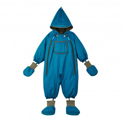 Baby-Winteroverall Hali Ice, seaport/ivygreen, 70/80