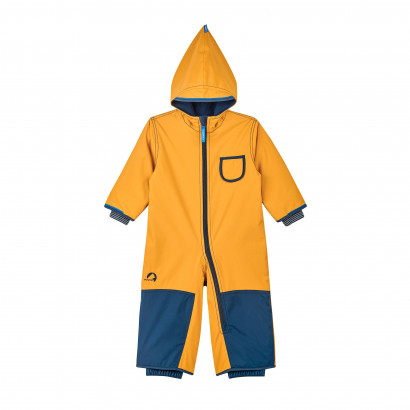 PIKKU Winter, Winteroverall, goldenyellow/navy