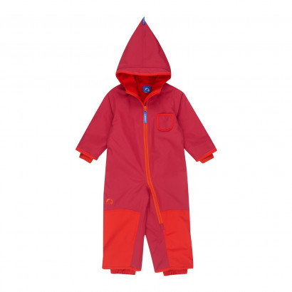 Winteroverall Pikku Winter persian red/grenadine 80/90