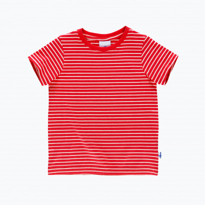 T - Shirt SUPI red/offwhite