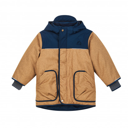 Kinder Winterjacke Tunturi Ice, cinnamon/navy