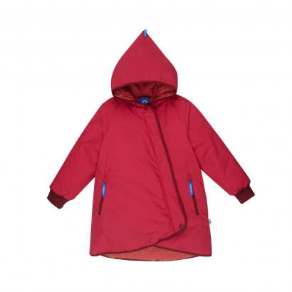 Kinder Winterjacke Likka Tuppi persian red/cabernet