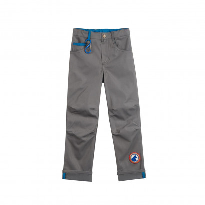 5-Pocket Hose mit Stretcheffekt, Kuusi Husky, charcoal