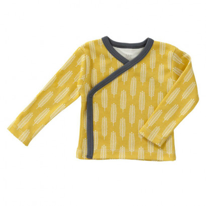 Fresk Wickelshirt yellow, Gr. 0-3M