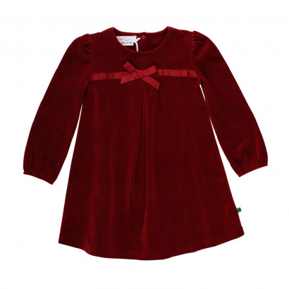 Freds World Velvet Dress bordeaux, Gr. 98