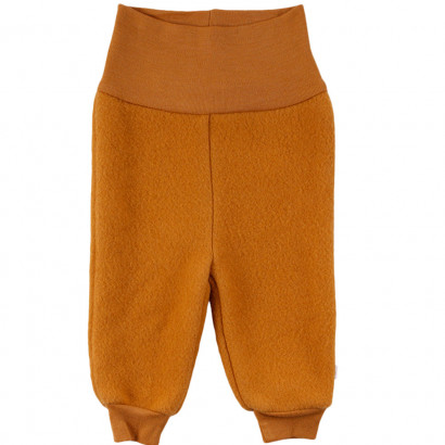 Müsli Woolly fleece pants, wood