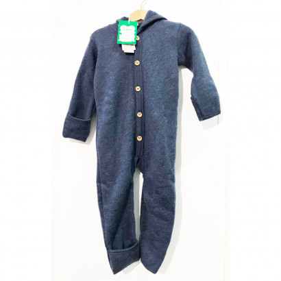 Woolly Fleece Overall, navy, Gr. 92/98