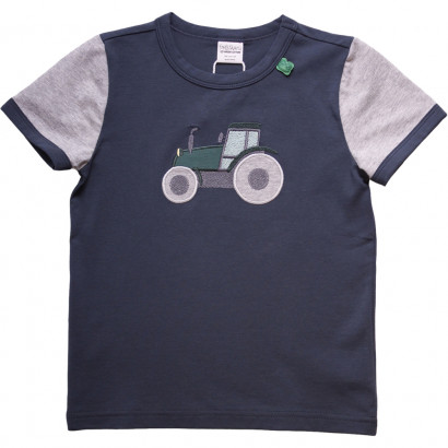 Freds World Farming front T baby, kurzärmelig, midnight
