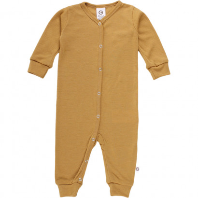 Müsli Woolly Bodysuit, wood