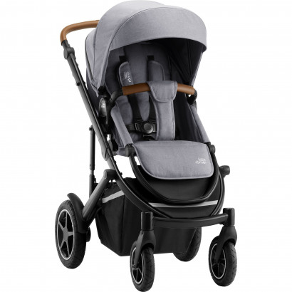 Britax Smile 3 Kinderwagen, frost grey/black/brown handle