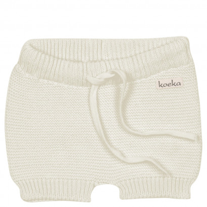 Baby Shorts Gritty grain, cream