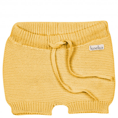 Baby Shorts Gritty grain, corn yellow