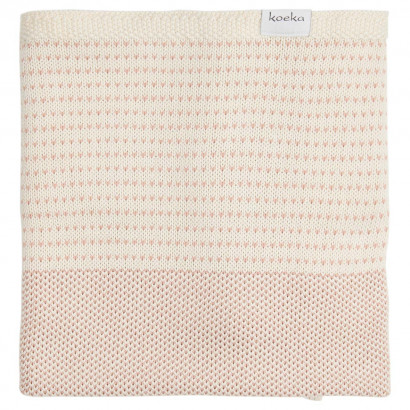Babydecke Spring field, dusty pink