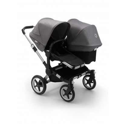 Donkey3 Duo, Alu/Black/Grey Melange