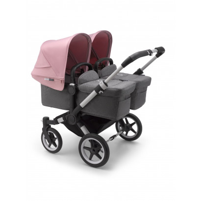 Donkey3 Twin, Alu/Grey Melange/Soft pink