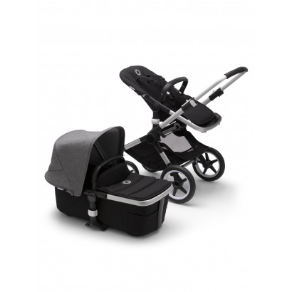 Bugaboo Fox 2 Alu/Black/Grey melange