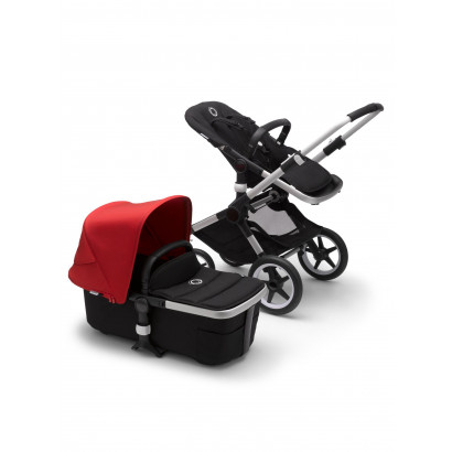 Bugaboo Fox 2 Alu/Black/Red