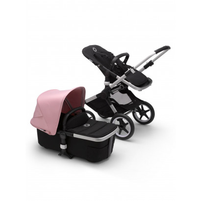Bugaboo Fox 2 Alu/Black/Soft pink
