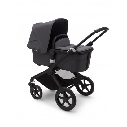 Bugaboo Fox 2 Complete Black/Steel blue/Steel blue
