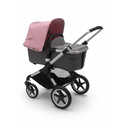 Bugaboo Fox 2 Alu/Grey melange/Soft pink