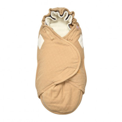 Lodger Bunker footmuff scandinavian fleece, sand (gelb)